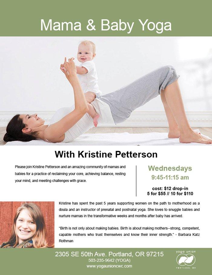 Mama and Baby Yoga