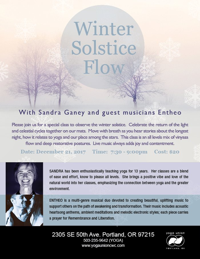 winter solstice yoga